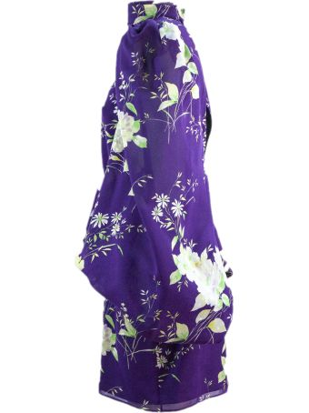 The Attico Purple Short 'gobi' Dress