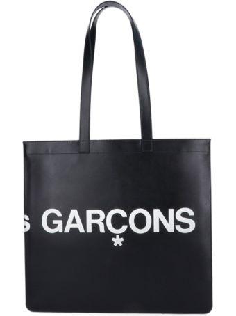 Comme des Garçons Logo Tote Bag