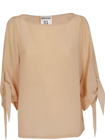SEMICOUTURE Bow Detail Blouse