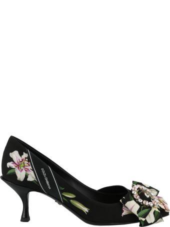 Dolce & Gabbana Decollete' With Lilium Detail