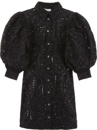 Ganni Sangallo Lace Dress