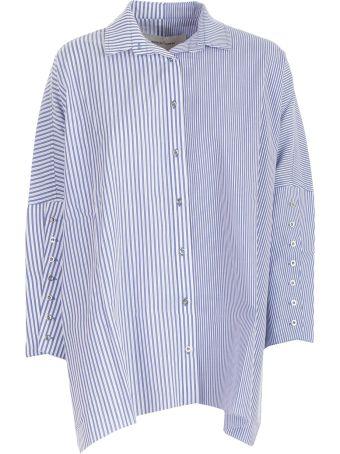 Marques'Almeida Striped Shirt