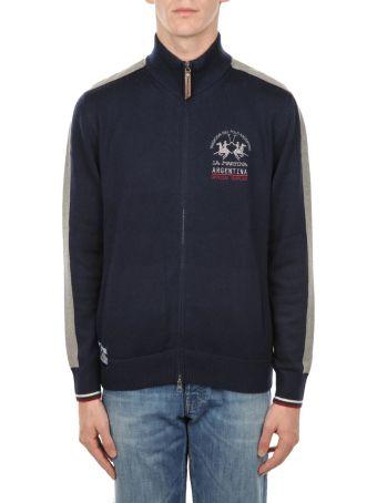 La Martina Full Zip Lambscot Sweatshirt