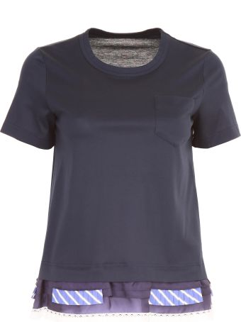 Sacai Frilled T-shirt