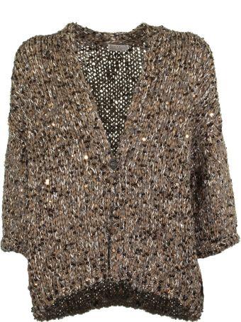 Brunello Cucinelli Textured Knit Cardigan