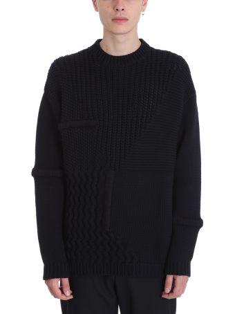 OAMC Black Wool Sweater