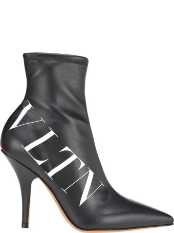 Valentino Sock Bootie Vltn