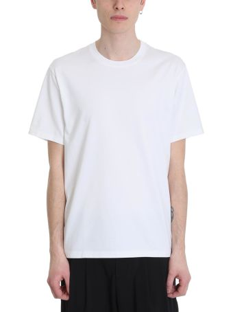 Attachment White Cotton T-shirt