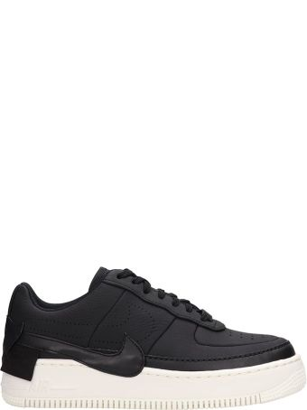Nike Black Leather Sneakers Af1 Jester Xx