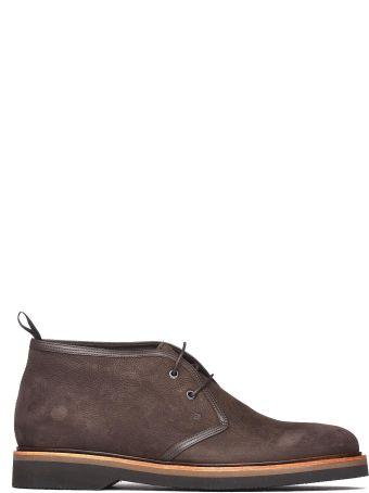 Fratelli Rossetti One Desert Boot In Brown Nabuk