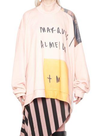 Marques'Almeida 'power Woman' Sweatshirt