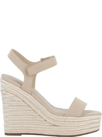 Kendall + Kylie Kendall+kylie Pink Leather Wedges