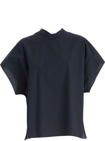 Hache Cap Sleeve Top