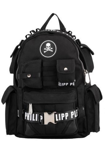Philipp Plein Tech Fabric Backpack