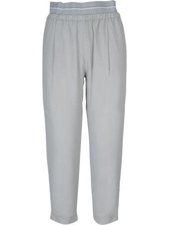 Fabiana Filippi High Waist Cropped Length Trousers