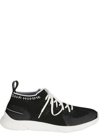 Christian Dior Low-top Logo Detail Mesh Sneakers