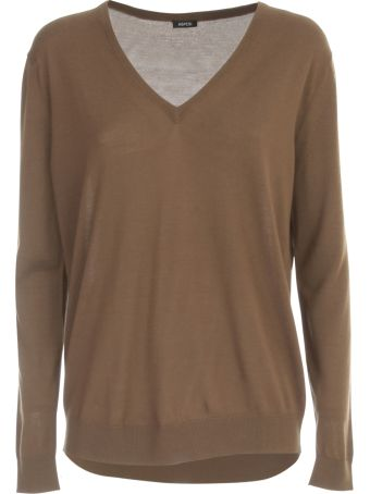 Aspesi Oversized Sweater V Neck