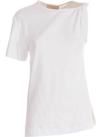 SEMICOUTURE Erika Cavallini Single-sleeved T-shirt