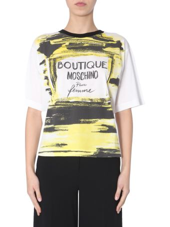 Boutique Moschino Round Neck T-shirt