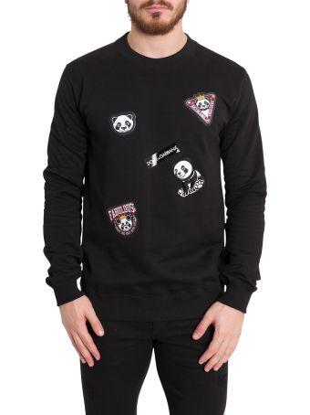 Dolce & Gabbana Panda Patches Sweatshirt