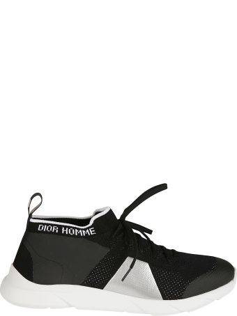 Christian Dior Low-top Mesh Detailed Sneakers
