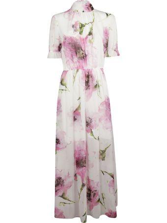 Blugirl Floral Print Long Dress