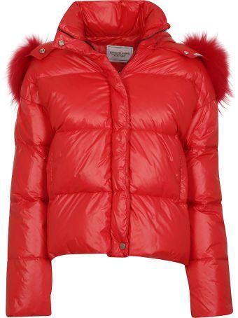 Forte Couture Forte Dei Marmi Couture Fur Trim Padded Jacket
