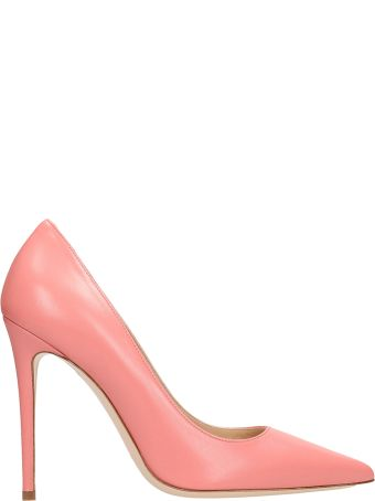 Dei Mille Pink Calf Leather Pumps