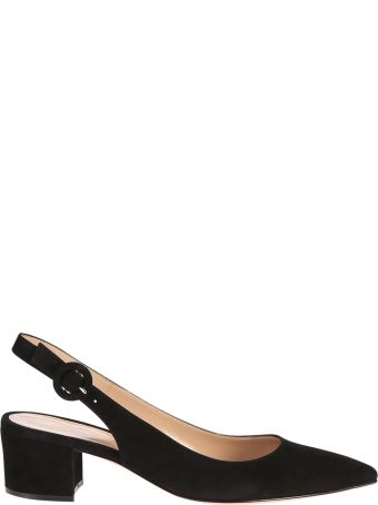 Gianvito Rossi Suede Leather Shoes