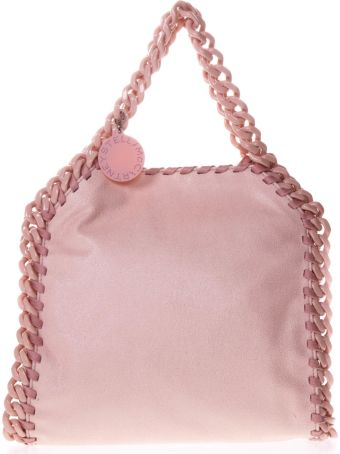 Stella McCartney Pastel Pink Ecological Fabric Bag