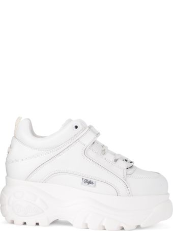 Buffalo 1339 White Leather Sneaker