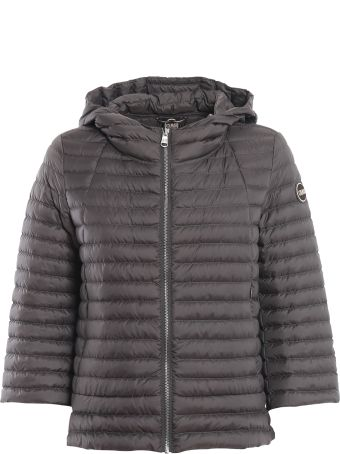 Colmar Hooded A-line Grey Puffer Jacket