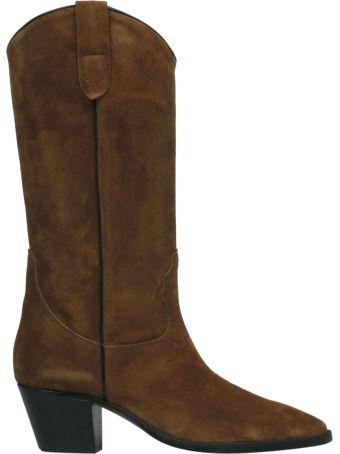 Paris Texas Mid-calf Heel Boots