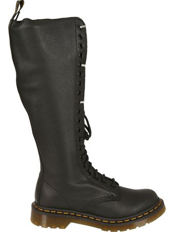 Dr. Martens Zipped And Lace Boots