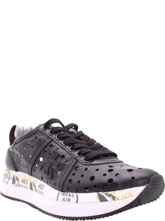 Premiata Conny 4729 Leather Sneakers