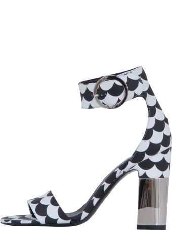 Roger Vivier Podium Sandals Scallops In Leather