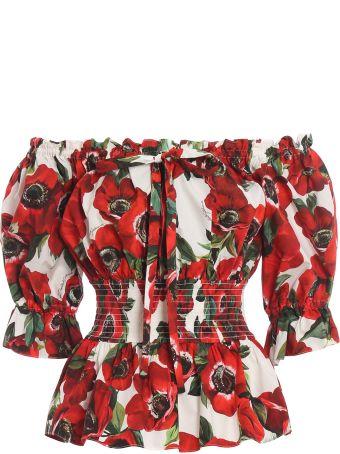 Dolce & Gabbana Dolce Gabbana Off Shoulder Blouse