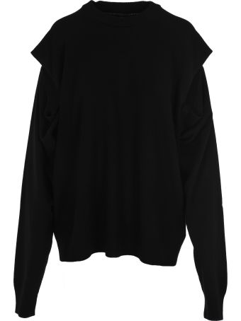 Maison Margiela Martin Margiela Cut Out Details Sweater