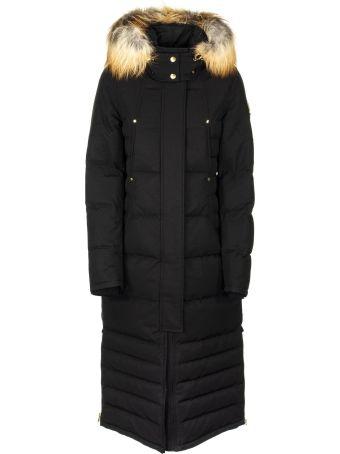 Moose Knuckles Ecoole Parka Coat Black/gold