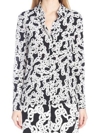 Diane Von Furstenberg 'crawling Chain' Shirt