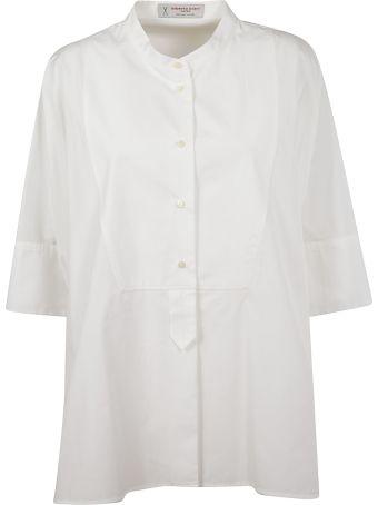 Alberto Biani Collarless Shirt