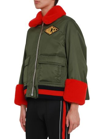 Gucci Bomber Jacket With Detachable Inside Vest