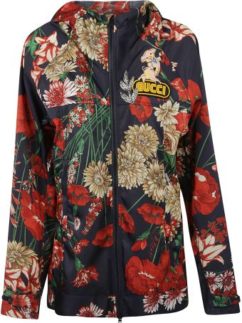 Gucci Spring Bouquet Hooded Jacket