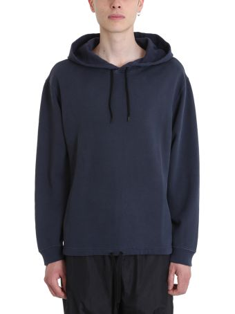 Our Legacy Blue Cotton Hoodie