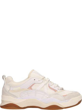 Vans Varix Wc White Fabric Sneakers