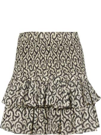 Isabel Marant Tiered Mini Skirt