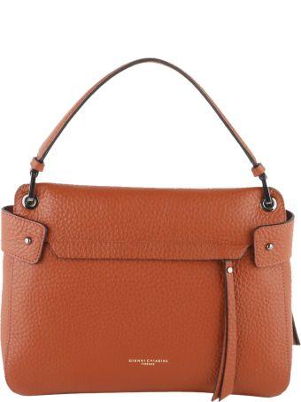 Gianni Chiarini Jasper Grained Leather Top Handle