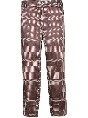 Jejia Checked Trousers