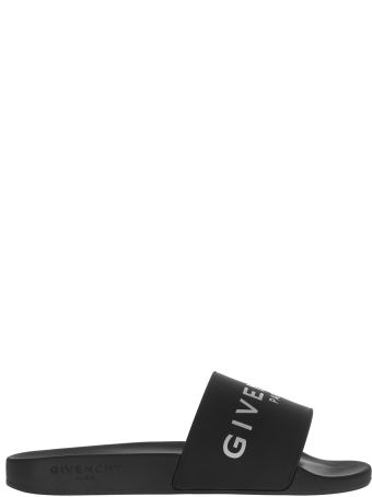 Givenchy Logo Embossed Sliders