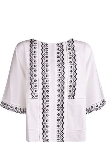 Weekend Max Mara Embroidered Top